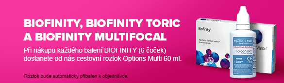 Biofinity a roztok Options Multi.