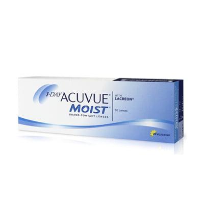 jednodenní kontaktní čočky 1 Day Acuvue Moist (30 čoček)