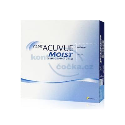 jednodenní kontaktní čočky 1 Day Acuvue Moist (90 čoček)