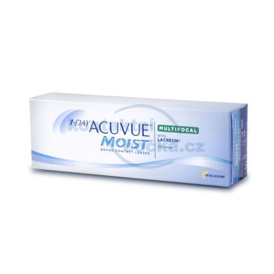 jednodenní kontaktní čočky 1 Day Acuvue Moist Multifocal 30 čoček