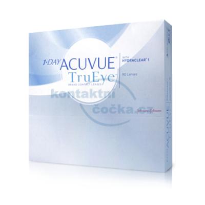 jednodenní kontaktní čočky 1-Day Acuvue TruEye (90 čoček)