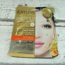 Eveline Cosmetics 24k GOLD FACE MASK - textilní maska vyživující liftingová 20 ml