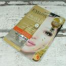Eveline Cosmetics 24k GOLD FACE MASK - vyživující textilní maska liftingová 20 ml