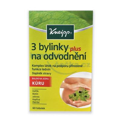 Kneipp 3 bylinky na odvodnění 60 tobolek/1