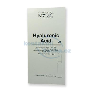 Piere René MEDIC Laboratorium Hyaluronic Acid 7x 2 ml