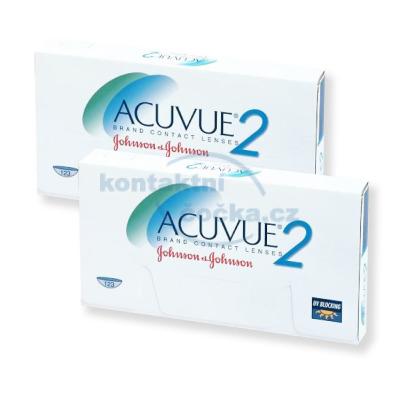 kontaktní čočky Acuvue 2 (12 čoček)