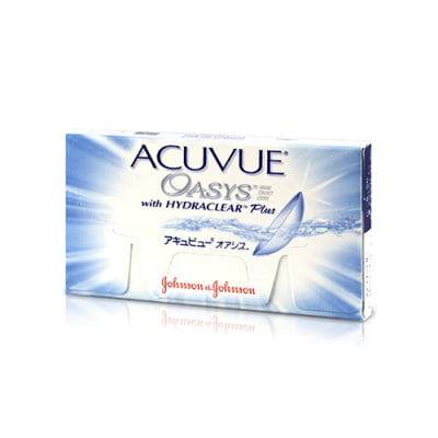 čtrnáctidenní kontaktní čočky Acuvue Oasys (12 čoček)