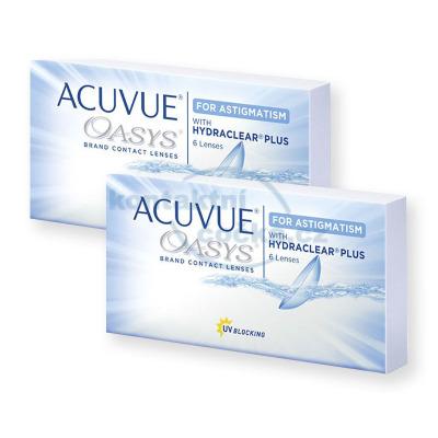 Acuvue Oasys for Astigmatism (12 čoček)