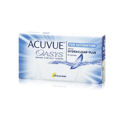 čtrnáctidenní torické čočky Acuvue Oasys for Astigmatism