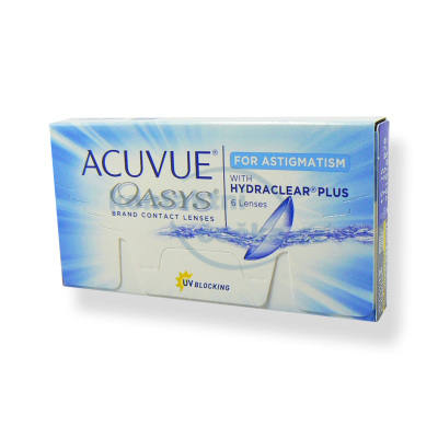 Acuvue Oasys for Astigmatism 6 čoček čtrnáctidenní (dvoutýdenní) kontaktní čočky