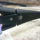 sportovní brýle adidas evil eye halfrim pro ad07 75 6600 - detail loga na stranici