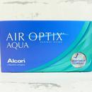 měsíční kontaktní čočky Air Optix Aqua (3 čočky) - přední pohled