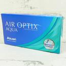 měsíční kontaktní čočky Air Optix Aqua (3 čočky) - boční pohled