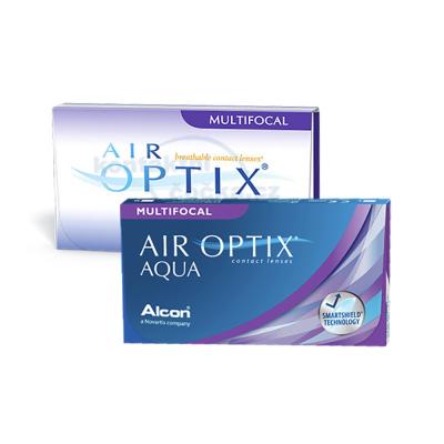 Měsíční kontaktní čočky Air Optix Multifocal (6 čoček) - původní a nový obal