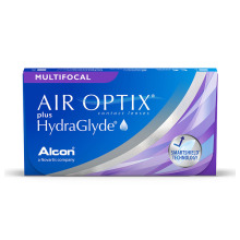 Air Optix Multifocal HydraGlyde (3 čočky)