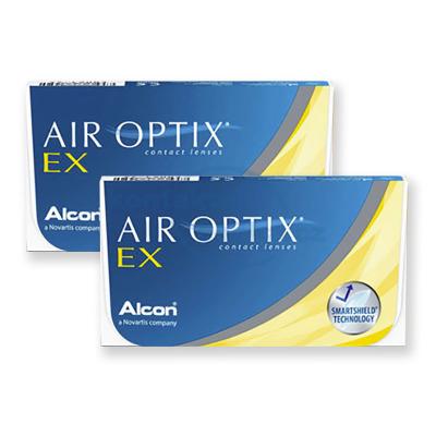 měsíční kontaktní čočky AIR OPTIX EX (6 čoček)