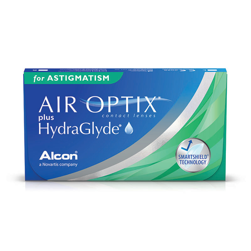 Air Optix For Astigmatism Hydraglyde 3 čočky Kontaktn 237