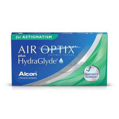 měsíční kontaktní čočky Air Optix for Astigmatism HydraGlyde (3 čočky)
