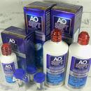 roztok na kontaktní čočky AOSEPT PLUS HydraGlyde 2x 360 ml a 90 ml a 3 pouzdra