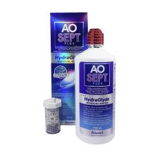 roztok na kontaktní čočky AOSEPT PLUS HydraGlyde 360 ml s pouzdrem