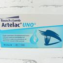 jednorázové oční kapky Artelac UNO 30x 0,6 ml - přední pohled