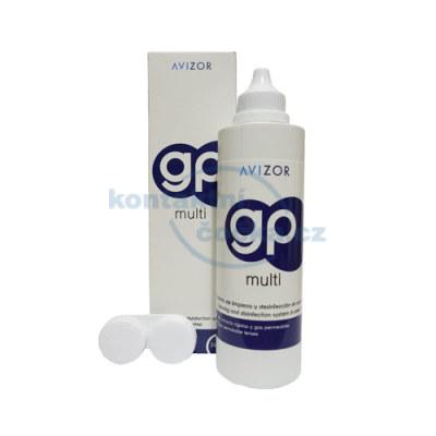roztok na čočky AVIZOR GP MULTI 240 ml s pouzdrem