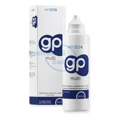 roztok na tvrdé kontaktní čočky Avizor GP MULTI 240 ml