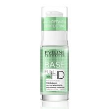 Eveline Cosmetics Full HD báze pod make-up proti zarudnutí