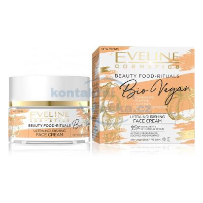 Eveline Bio Vegan - Ultra výživný denní a noční krém 50 ml