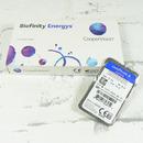 CooperVision měsíční kontaktní čočky Biofinity Energys - detail blistru (parametry jsou pouze ilustrační)
