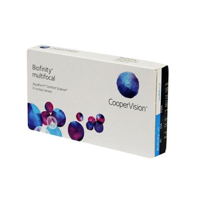 kontaktní čočky multifokální Biofinity Multifocal (3 čočky)