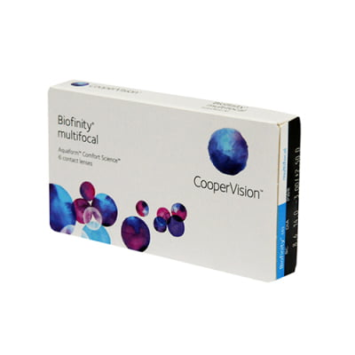 kontaktní čočky multifokální Biofinity Multifocal (6 čoček)