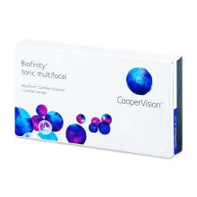 Biofinity Toric Multifocal (3 čočky)
