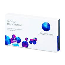 Biofinity Toric Multifocal (6 čoček)
