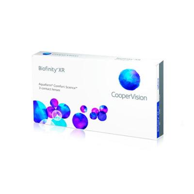 kontaktní čočky měsíční Biofinity XR (3 čočky)
