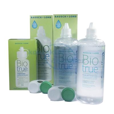 roztok na kontaktní čočky Biotrue 2x 360 ml a 60 ml s pouzdry