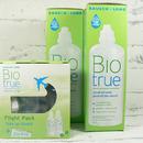 roztok na kontakní čočky Biotrue 2x 360 ml a Fligh Pack 2x 60 ml