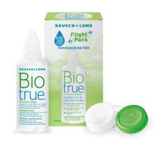 roztok na kontaktní čočky Biotrue Flight Pack 100 ml s pouzdrem