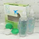 roztok na kontaktní čočky Biotrue Flight Pack 2x 60 ml a pouzdra