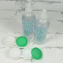 roztok na kontaktní čočky Biotrue Flight Pack 2x 60 ml s otevřeným pouzdrem