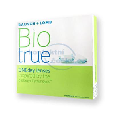jednodenní kontaktní čočky Biotrue ONEday (90 čoček)