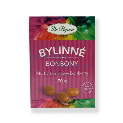 Dr. Popov Bonbony Multivitamín 70 g