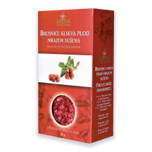 Brusnice klikva plod mrazem sušená 20 g