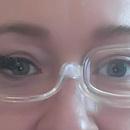 Brýle na líčení - líčení řasenkou