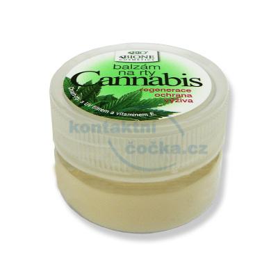 Bione Cosmetics Cannabis Balzám na rty v kelímku 25 ml