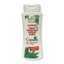 Bione Cosmetics Cannabis Čistící odličovací pleťové mléko 255 ml