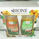 Dárková sada Bione - Cannabis Regenerační vlasový šampon 260 ml a Relaxační sprchový gel 260 ml