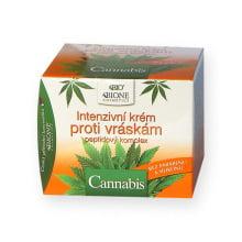 Bione Cosmetics Cannabis Intenzivní krém proti vráskám s peptidovým komplexem 51 ml