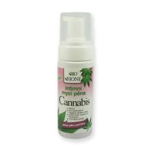 Bione Cosmetics Cannabis Intimní mycí pěna 150 ml