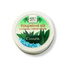 Bione Cannabis koupelová sůl s minerály z Mrtvého moře 200 g/1